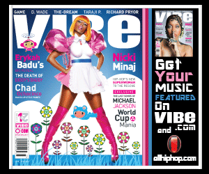Vibe August 2010 Cover